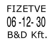 D 28b dátumbélyegző